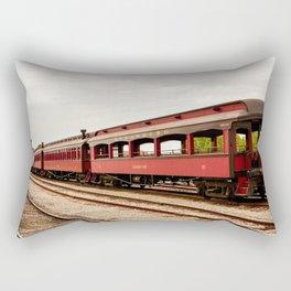 Strasburg Passenger Cars Rectangular Pillow