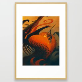 The Downfall of Passion Framed Art Print