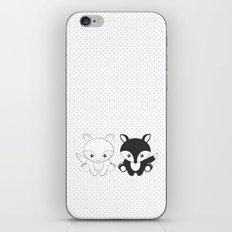 Twins Fox iPhone & iPod Skin