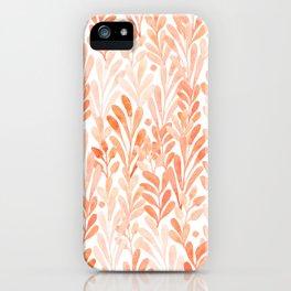 summer grass. seamless pattern iPhone Case