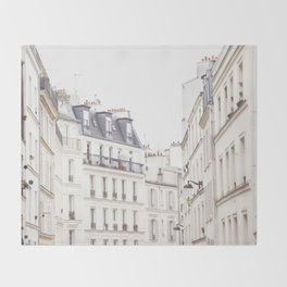 Slightly Paris Throw Blanket