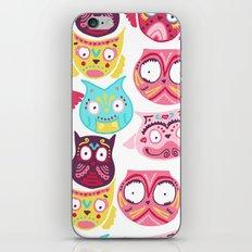 Ornate Owls iPhone & iPod Skin