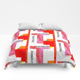 """Cocktail """"T"""" - Tequila Sunrise Comforters"""