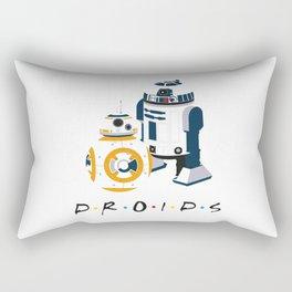 Droid Friends Rectangular Pillow