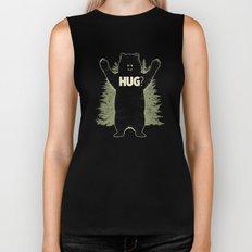 Bear Hug? (dark version) Biker Tank