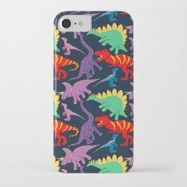 Dinosaur Domination - Dark iPhone Case