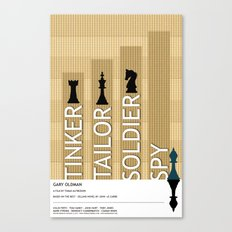 Tinker Tailor Soldier Spy Canvas Print
