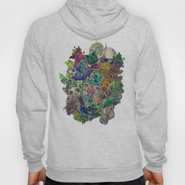 Color Stickers Hoody