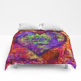 HEARTFUL OF PEACE Comforters