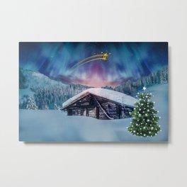 Christmas night #society6 #decor #buyart Metal Print
