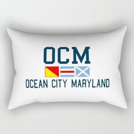 Ocean City - Maryland. Rectangular Pillow