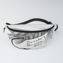 """""""Trout Fly #2"""" Hand-Drawn by Dark Mountain Arts Fanny Pack"""