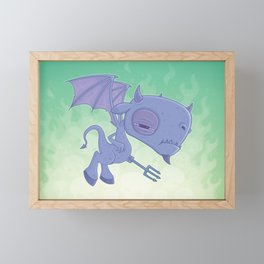 Pitchy Framed Mini Art Print