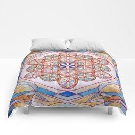 Flower of Life Mandala Comforters