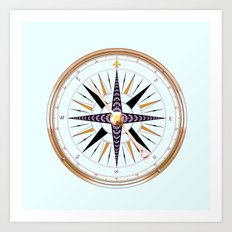 Nautical 3 Art Print