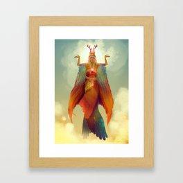 Reine Chamane Framed Art Print