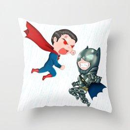 B v S Throw Pillow