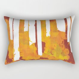 Stripes and Patches Rectangular Pillow