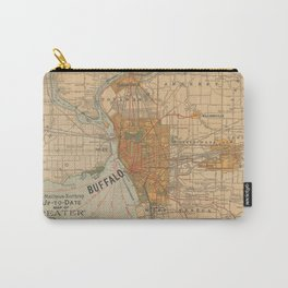 Vintage Map of Buffalo NY (1893) Carry-All Pouch