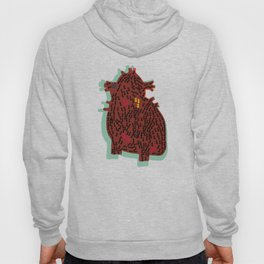 ants and heart Hoody