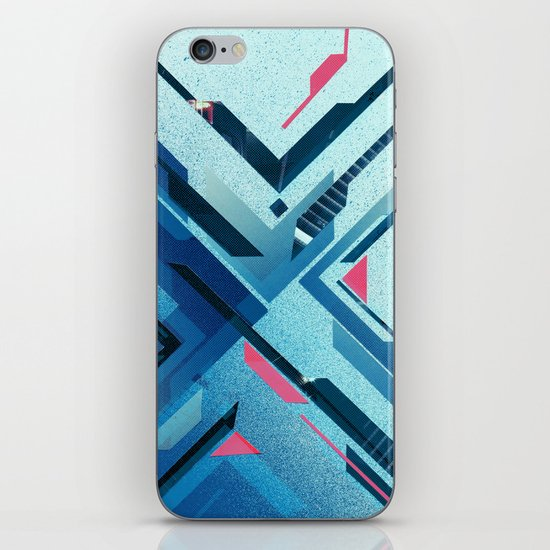 Geometric - Collage Love iPhone & iPod Skin