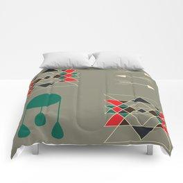 dream-catcher gray Comforters