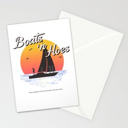 Boats n Hoes, World Premiere Of Prestige Worldwide's First Music Video, Step Brothers - First Word I Stationery Cards