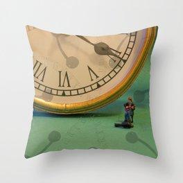 Big Time Busker Throw Pillow