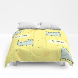 Why So Serious....Cat Comforters
