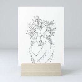 Blossom Hug Mini Art Print