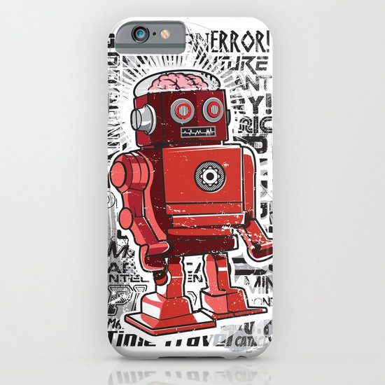 Robot Flux iPhone & iPod Case
