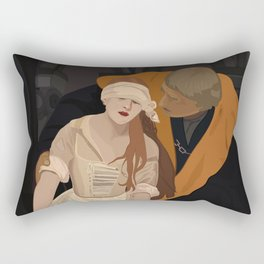 Lady Jane Grey illustration Rectangular Pillow