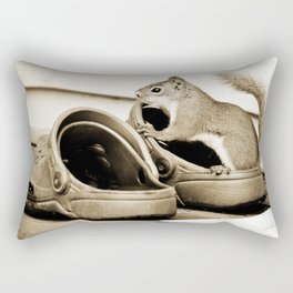 Do These Shoes Fit? Rectangular Pillow