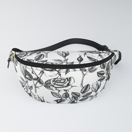 Roses drawing Fanny Pack
