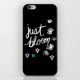 Just Bloom iPhone Skin