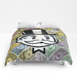 Another Day - Another Dollar Comforters