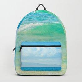 Ocean Blue Beach Dreams Backpack