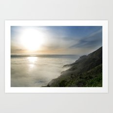 Big Sur California Coast - Sunset Art Print
