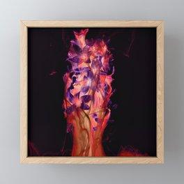 Flamenco Glow Framed Mini Art Print