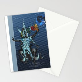 The mystics and almighty: God Stationery Cards