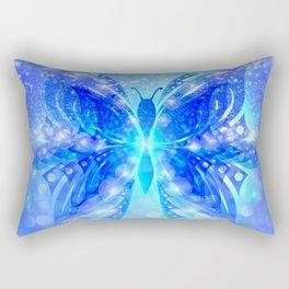 Butterfly Abstract G539 Rectangular Pillow