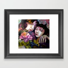 Protection Between Us Framed Art Print