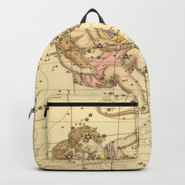 Vintage Gemini Constellation Map (1822) Backpack