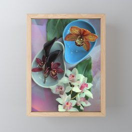Pieces Of The Puzzle Framed Mini Art Print