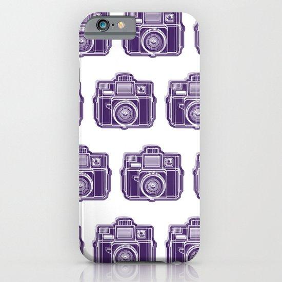 I Still Shoot Film Holga Logo - Deep Purple iPhone & iPod Case