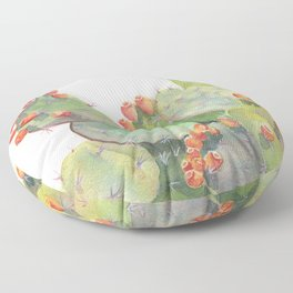 Cactus Watercolor 2 Floor Pillow