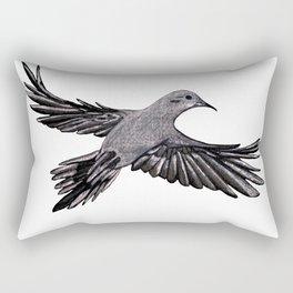 Morning Mourning Dove Rectangular Pillow