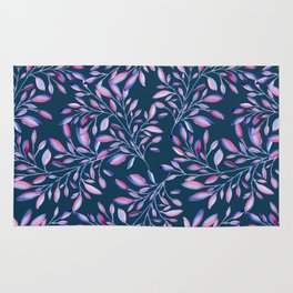 Colored branches Rug