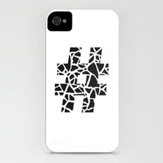 Hashtag iPhone (4, 4s) Slim Case