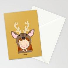 Like a deer.. Stationery Cards